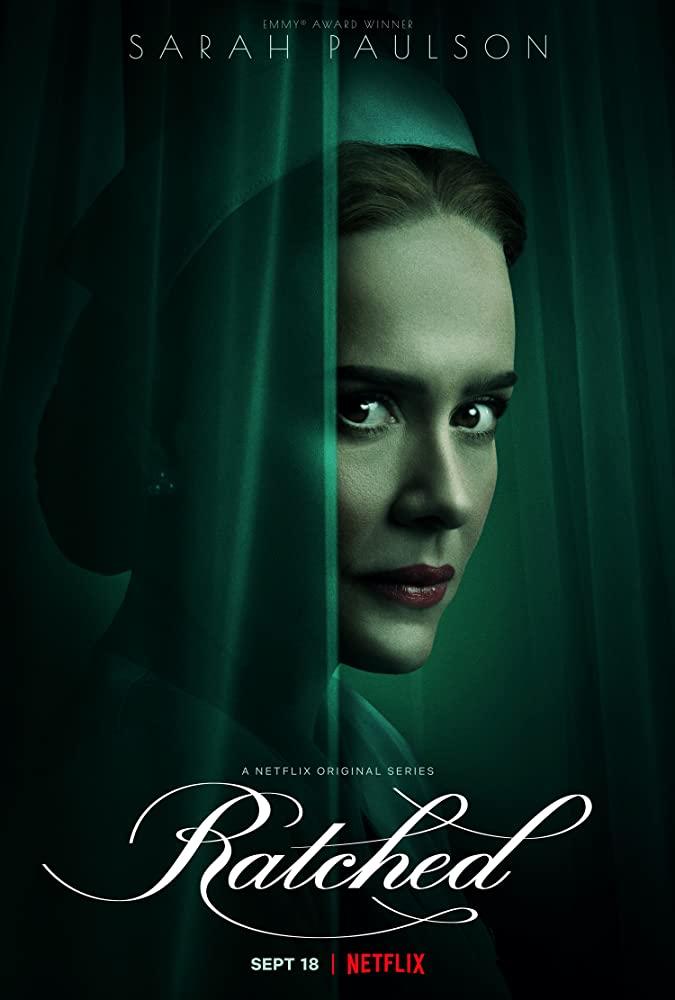 """Sarah Paulson im offiziellen Trailer zu Ryan Murphys Mystery-Serie """"Ratched"""""""