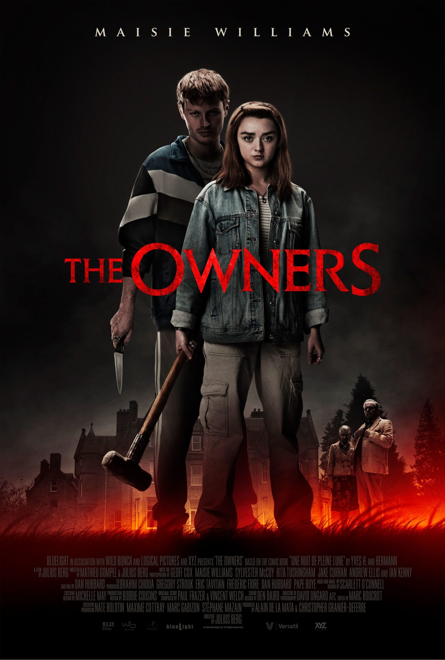 """[Trailer] """"Game of Thrones""""-Star Maisie Williams im Home-Invasion Thriller """"The Owners"""""""