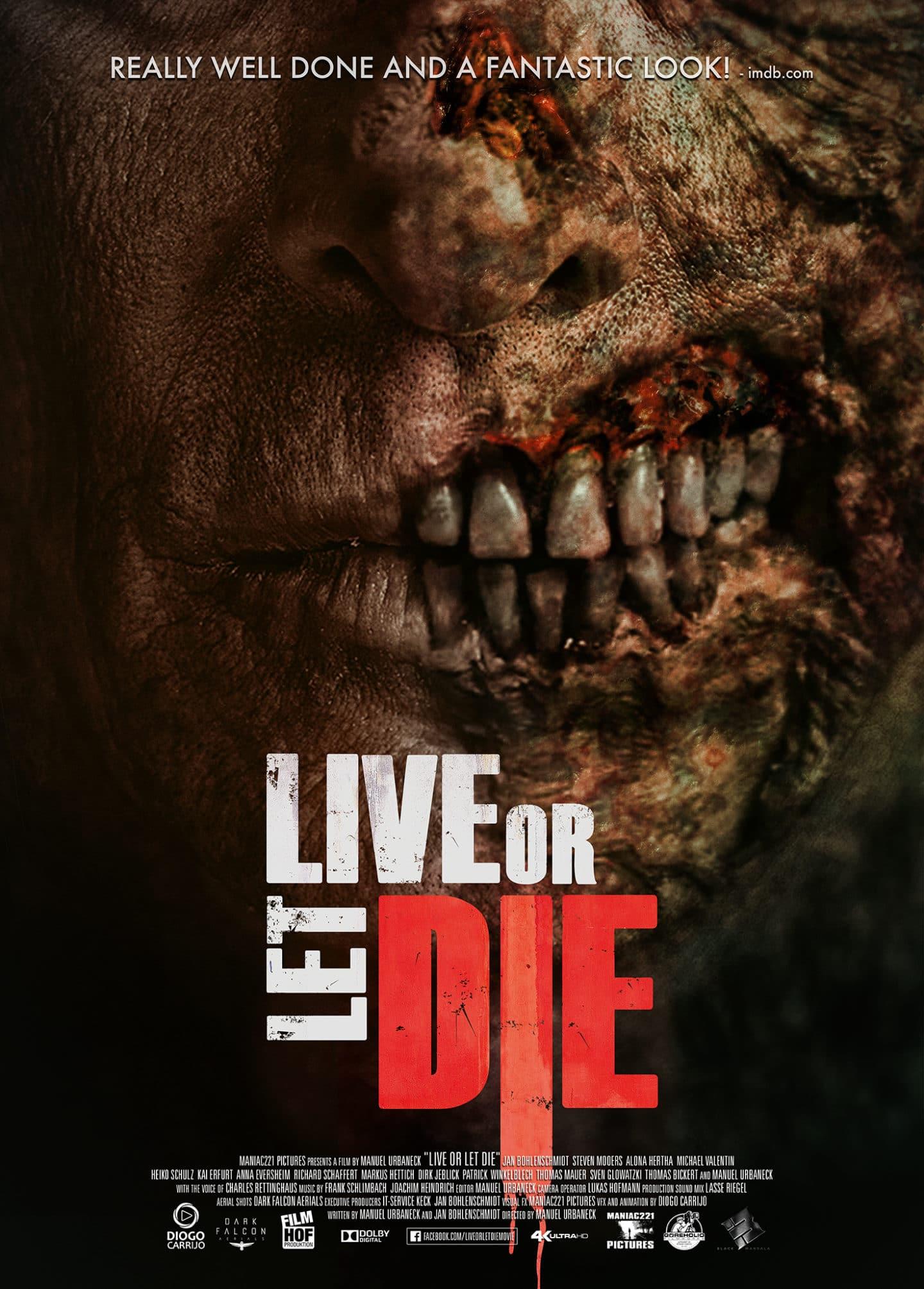 """""""Live or Let Die"""": Poster und Trailer zum deutschen Zombie-Film"""