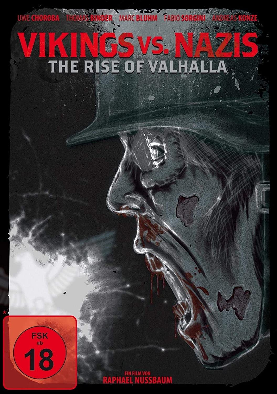 Vikings vs. Nazis – The Rise of Valhalla – DVD Cover