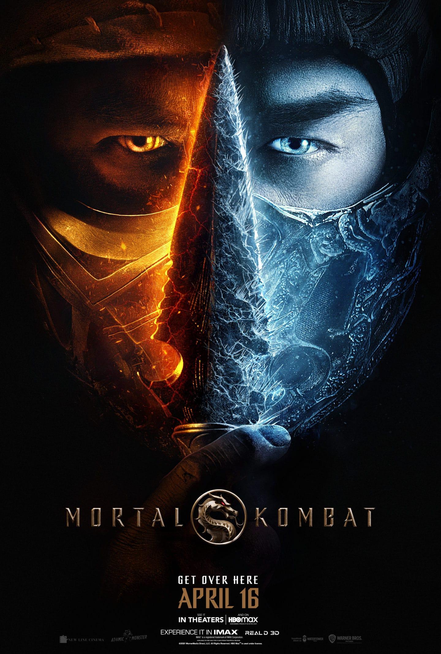 Mortal Combat 2021 Poster