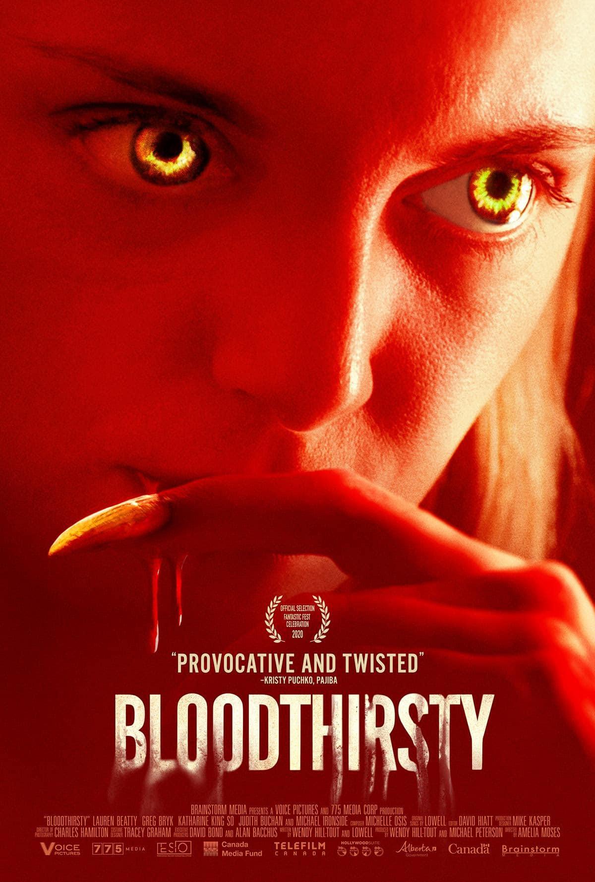 Bloodthirsty – Teaser Poster