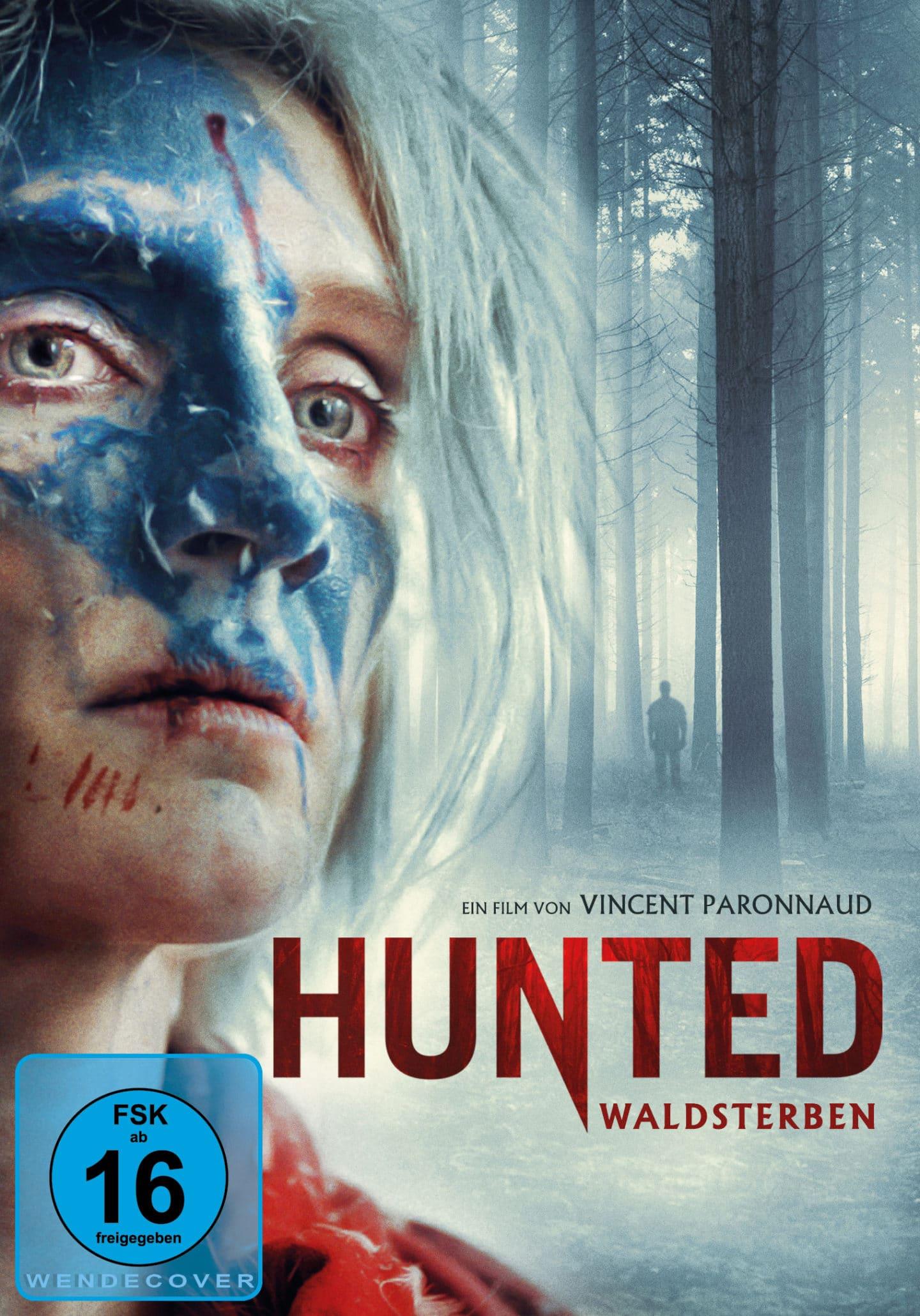 Hunted – Waldsterben – DVD Cover