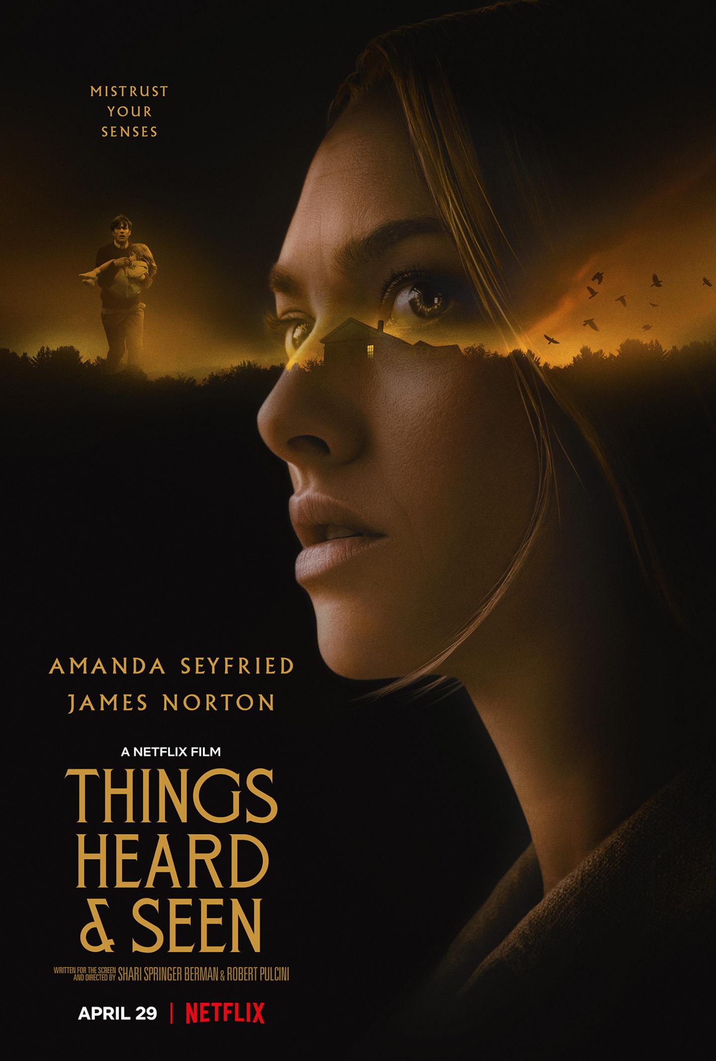 Things Heard & Seen – Netflix Teaser Poster