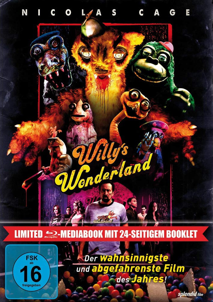 Willys Wonderland – Blu-ray Cover Limited Mediabook Edition