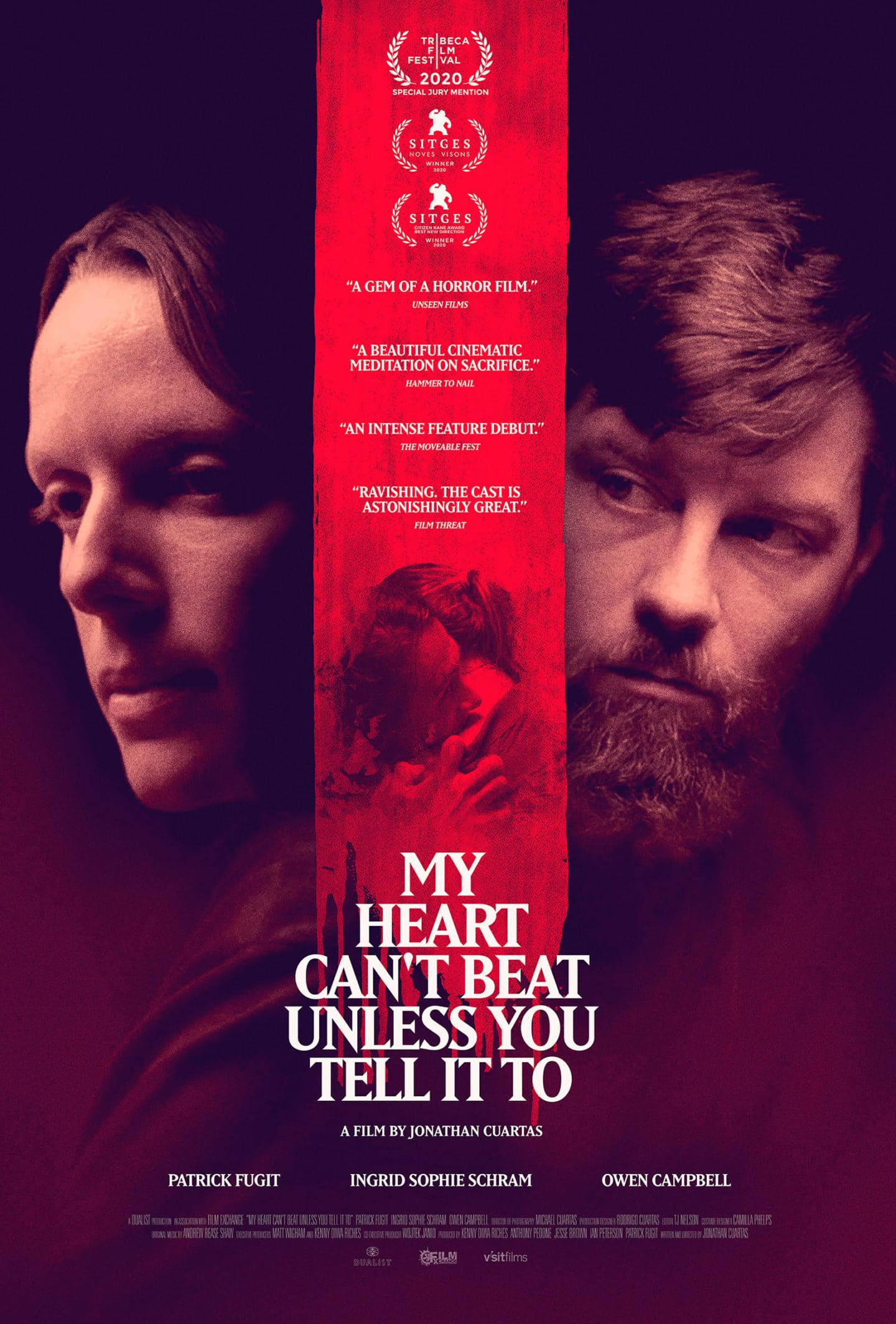 My Heart Can't Beat Unless You Tell It To – Teaser Poster