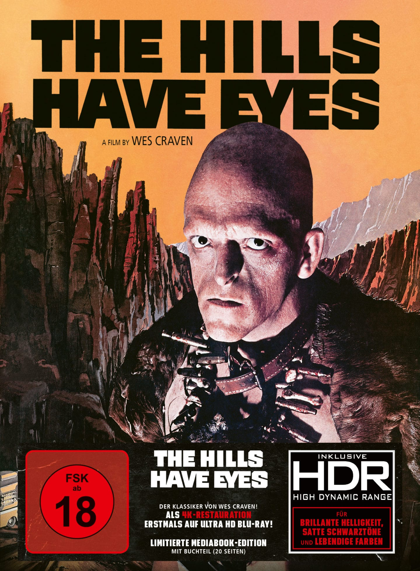 The Hills Have Eyes – Mediabook 4K UHD Bluray HDR