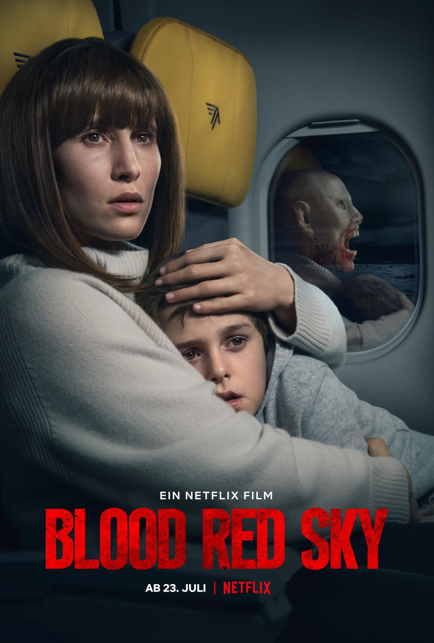 Blood Red Sky – Deutsches Netflix Poster
