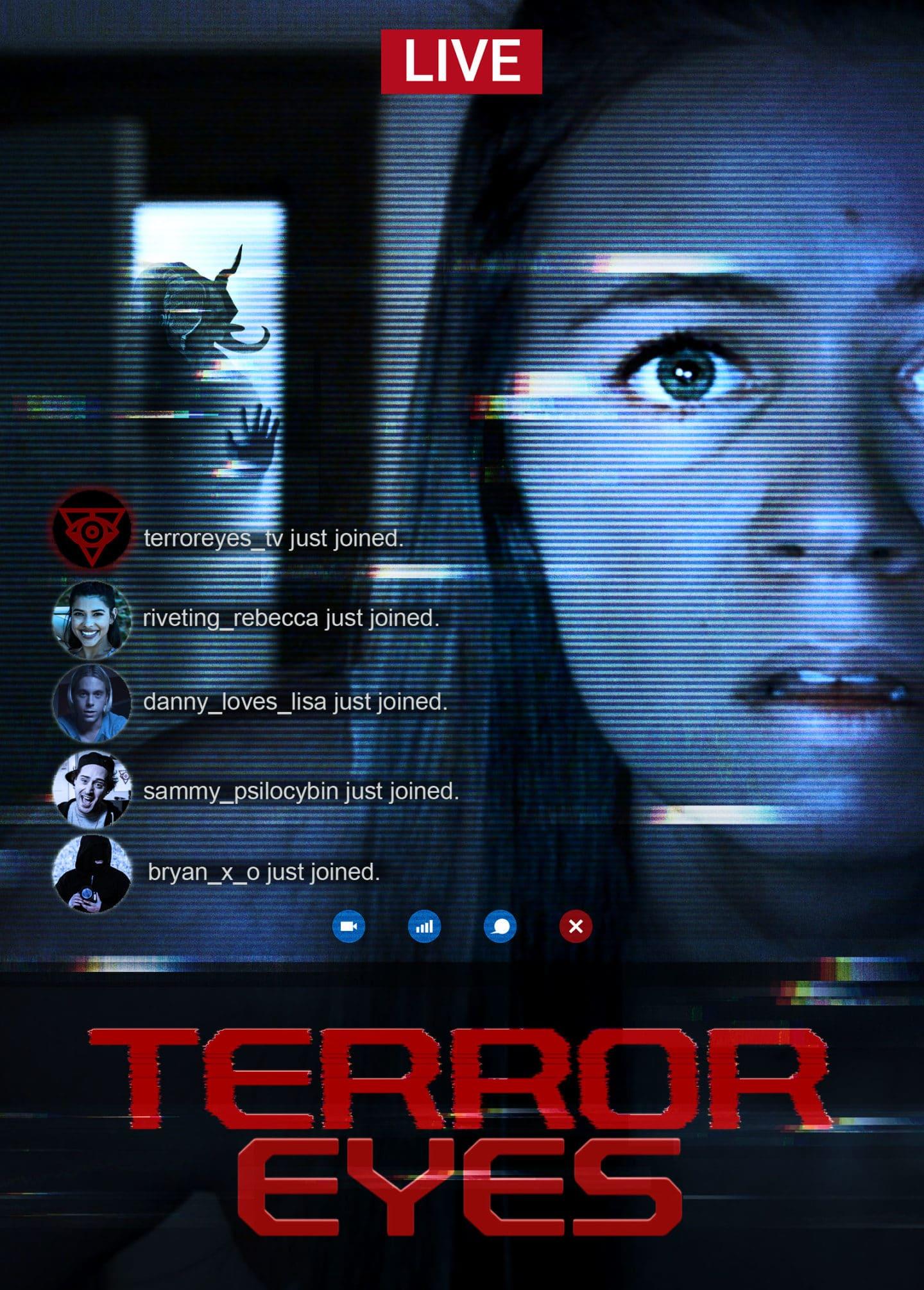 Terror Eyes – Teaser Poster