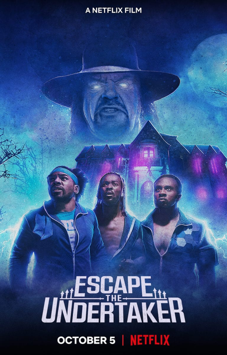 Escape the Undertaker – Teaser Poster