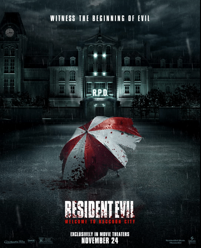 Resident Evil Welcome To Raccoon City – Teaser Poster