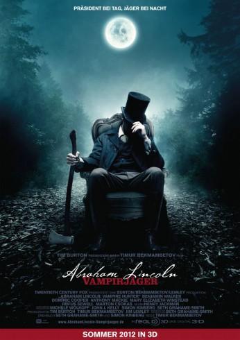 Abraham Lincoln Vampirjaeger Plakat