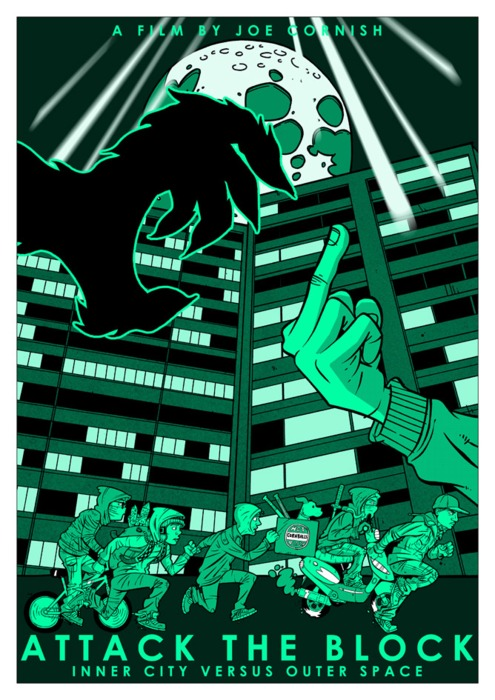 Attack the Block - Fanmade Poster