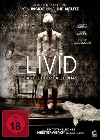 Livid - Das Blut der Ballerinas DVD Cover