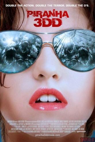 Piranha 3DD Teaser Poster