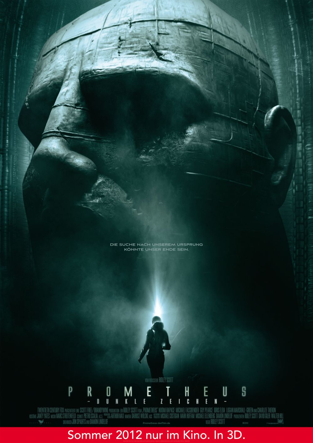 Prometheus - Dunkle Zeichen - Teaser Plakat