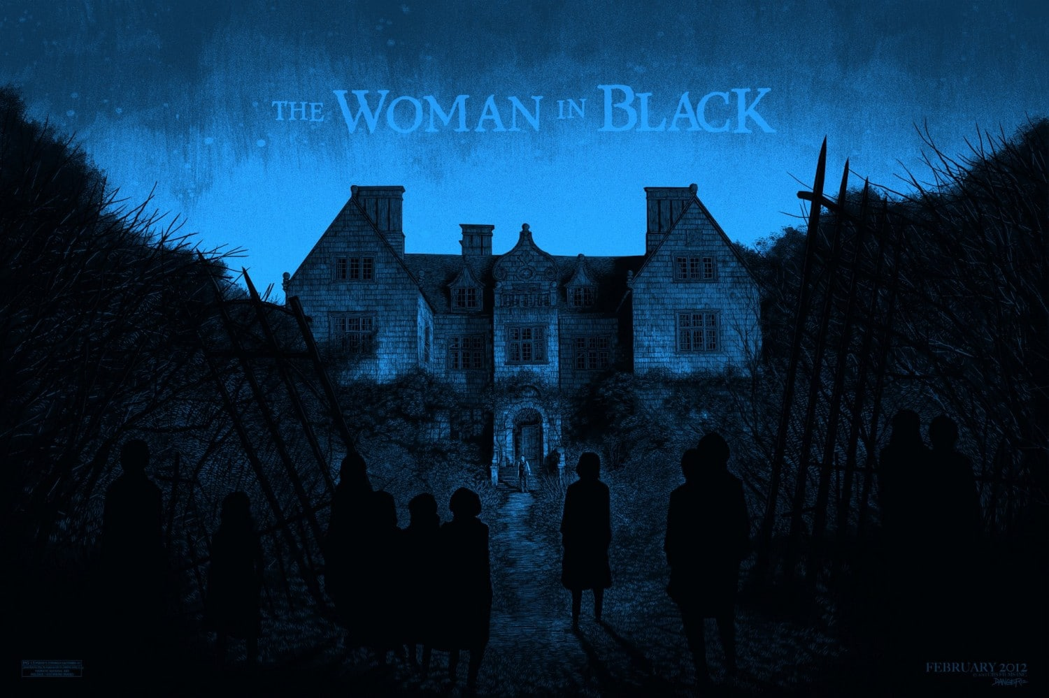 the woman in black overkill neue poster und clips scary