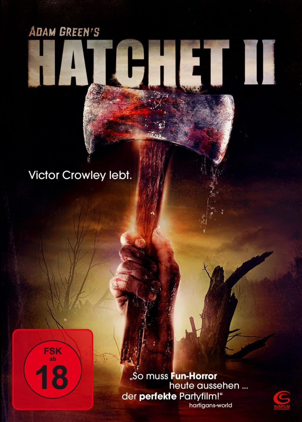 hatchet 2 film 2010 scary. Black Bedroom Furniture Sets. Home Design Ideas