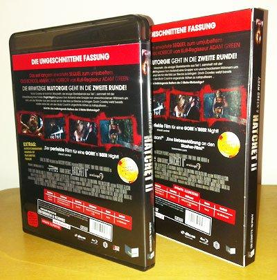 Hatchet 2 Blu-ray Cover Hinten