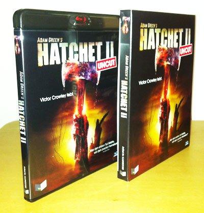 Hatchet 2 Blu-ray Cover Vorne