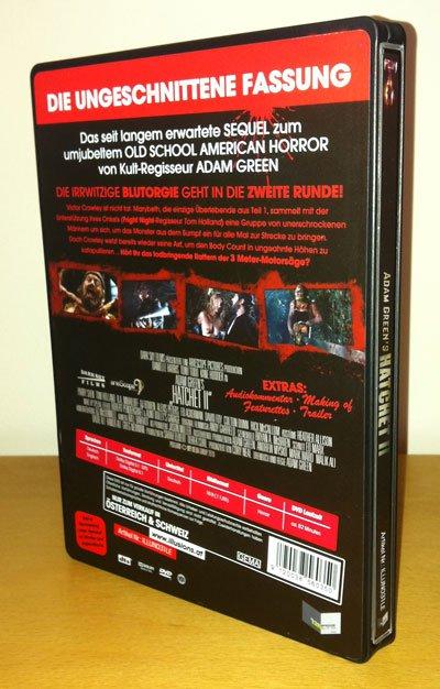 Hatchet 2 DVD Cover Hinten
