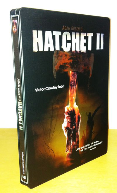 Hatchet 2 DVD Cover Vorne