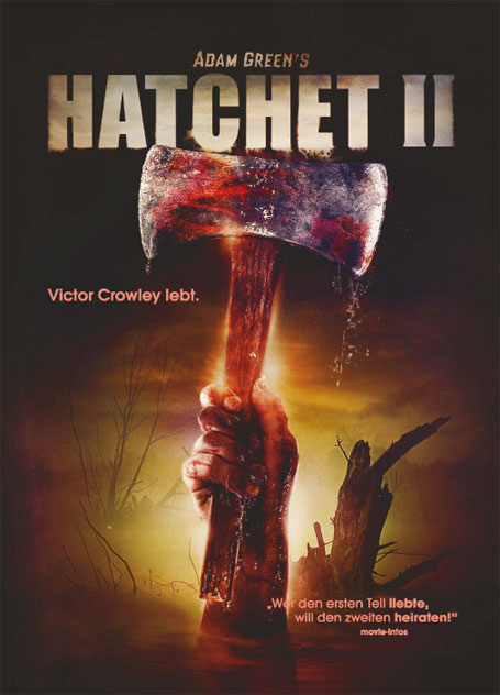 Hatchet II Uncut Steelbook Edition Cover