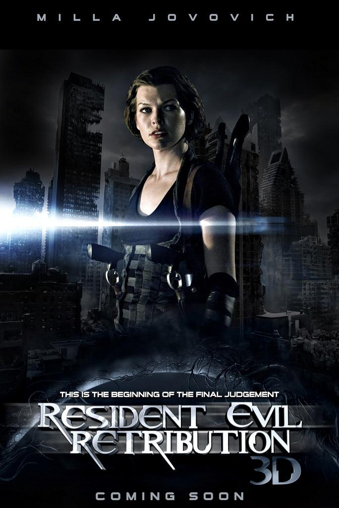 Resident Evil - Retribution 3D