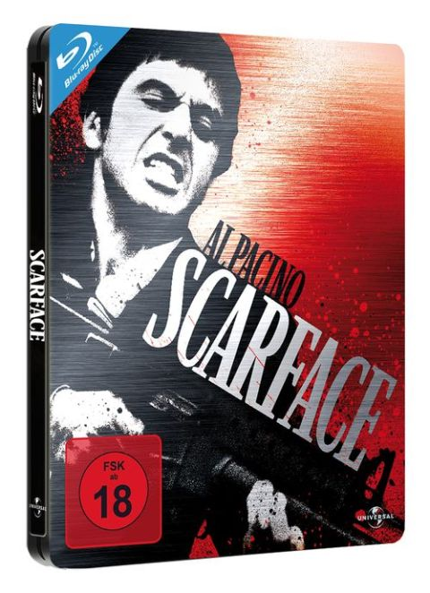Scarface Blu-ray Cover uncut