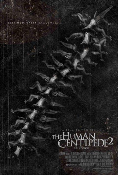The Human Centipede 2 Plakat
