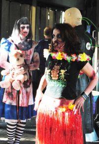 Zombiewalk auf dem Weekend of Horrors 9