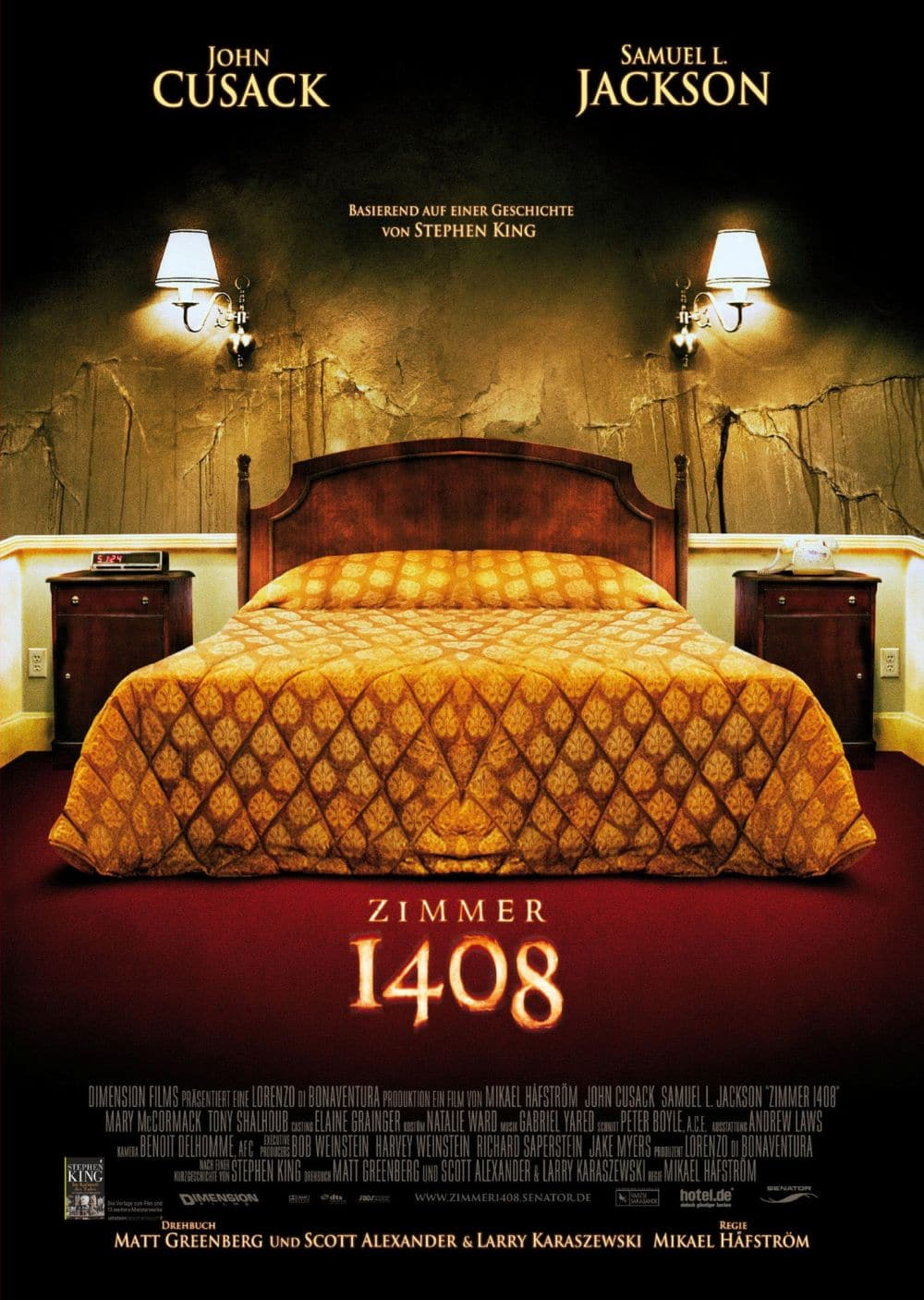 Zimmer 1408 film 2007 scary for Habitacion 1408 pelicula
